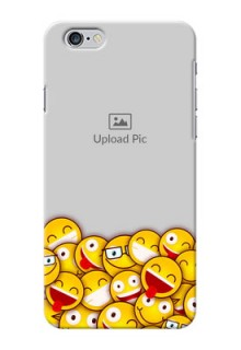iPhone 6 Plus Custom Phone Cases with Smiley Emoji Design