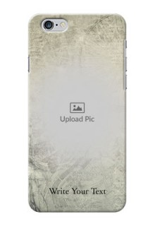 iPhone 6 Plus custom mobile back covers with vintage design