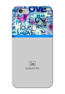 iPhone 6 Mobile Covers Online: Colorful Love Design