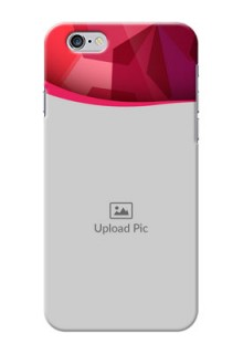 iPhone 6 custom mobile back covers: Red Abstract Design