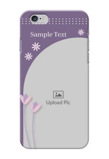 iPhone 6 Phone covers for girls: lavender flowers design