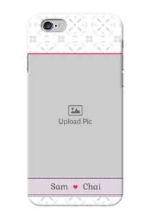 iPhone 6 Phone Cases with Photo and Ethnic Design