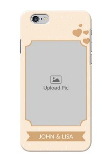 iPhone 6 mobile phone cases with confetti love design