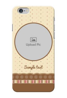 iPhone 6s Plus Mobile Cases: Brown Dotted Mobile Case Design