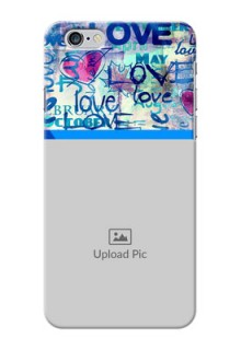 iPhone 6s Plus Mobile Covers Online: Colorful Love Design