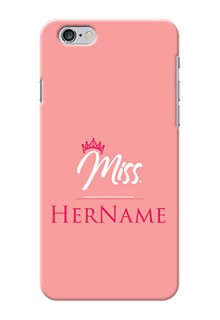 Iphone 6S Plus Custom Phone Case Mrs with Name