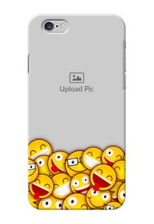 iPhone 6s Custom Phone Cases with Smiley Emoji Design