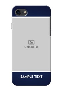 iPhone 7 Mobile Cases: Simple Royal Blue Design
