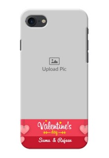 iPhone 7 Mobile Back Covers: Valentines Day Design