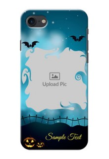 iPhone 7 Personalised Phone Cases: Halloween frame design