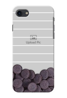 iPhone 7 Custom Mobile Covers with Oreo Biscuit Design
