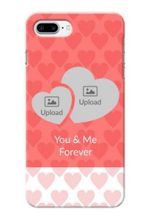 iPhone 8 Plus personalized phone covers: Couple Pic Upload Design