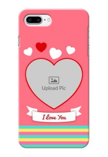 iPhone 8 Plus Personalised mobile covers: Love Doodle Design