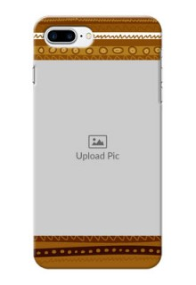 iPhone 8 Plus Mobile Covers: Friends Picture Upload Design