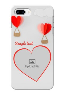 iPhone 8 Plus Phone Covers: Parachute Love Design