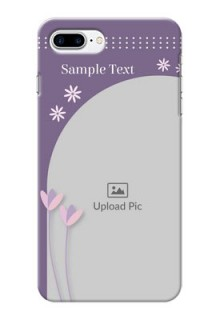 iPhone 8 Plus Phone covers for girls: lavender flowers design
