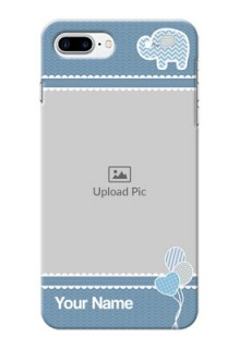 iPhone 8 Plus Custom Phone Covers with Kids Pattern Design