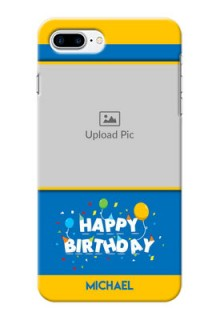 iPhone 8 Plus Mobile Back Covers Online: Birthday Wishes Design