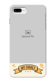 iPhone 8 Plus Personalized Mobile Cases: My Family Design