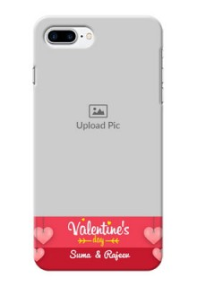 iPhone 8 Plus Mobile Back Covers: Valentines Day Design