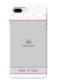 iPhone 8 Plus Phone Cases with Photo and Ethnic Design