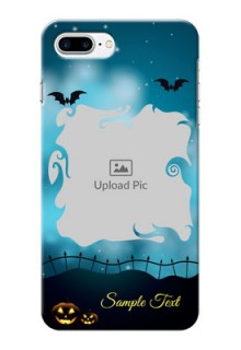 iPhone 8 Plus Personalised Phone Cases: Halloween frame design
