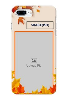 iPhone 8 Plus Mobile Phone Cases: Autumn Maple Leaves Design