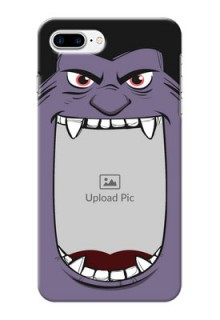 iPhone 8 Plus Personalised Phone Covers: Angry Monster Design