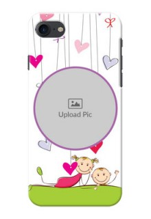 Apple iPhone 8 Cute Babies Mobile Cover  Design
