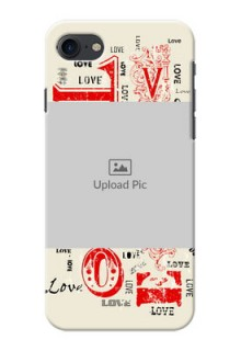 Apple iPhone 8 Lovers Picture Upload Mobile Case Design