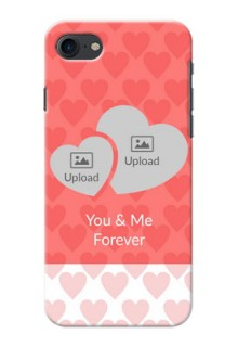 Apple iPhone 8 Couples Picture Upload Mobile Cover Design