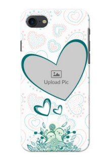 Apple iPhone 8 Couples Picture Upload Mobile Case Design