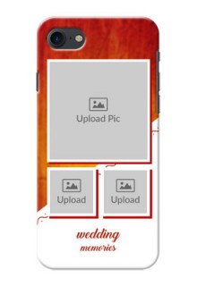 Apple iPhone 8 Wedding Memories Mobile Cover Design
