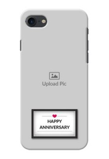 Apple iPhone 8 Happy Anniversary Mobile Cover Design