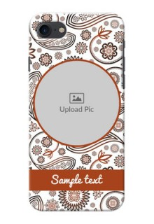 Apple iPhone 8 Floral Abstract Mobile Case Design