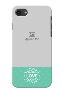 Apple iPhone 8 Lovers Picture Upload Mobile Cover Design