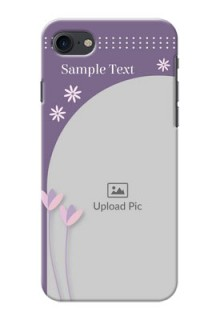 iPhone 8 Phone covers for girls: lavender flowers design