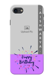 iPhone 8 Personalized Phone Cases: Birthday Icons Design
