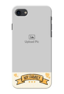 iPhone 8 Personalized Mobile Cases: My Family Design