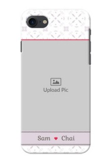 iPhone 8 Phone Cases with Photo and Ethnic Design
