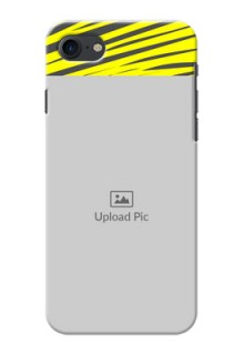 iPhone 8 Personalised mobile covers: Yellow Abstract Design