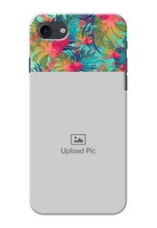 iPhone 8 Personalized Phone Cases: Watercolor Floral Design