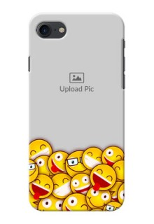 iPhone 8 Custom Phone Cases with Smiley Emoji Design