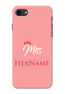 Iphone 8 Custom Phone Case Mrs with Name