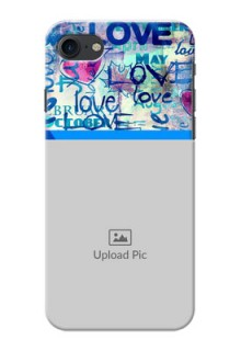 iPhone SE 2020 Mobile Covers Online: Colorful Love Design