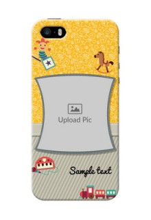 Apple iPhone SE Baby Picture Upload Mobile Cover Design