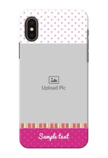 iPhone X custom mobile cases: Cute Girls Cover Design