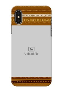 iPhone X Mobile Covers: Friends Picture Upload Design