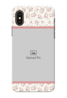 iPhone X Back Covers: Premium Floral Design