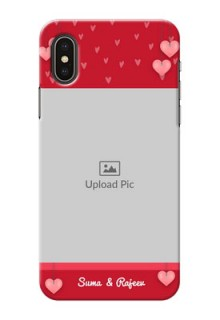 iPhone X Mobile Back Covers: Valentines Day Design